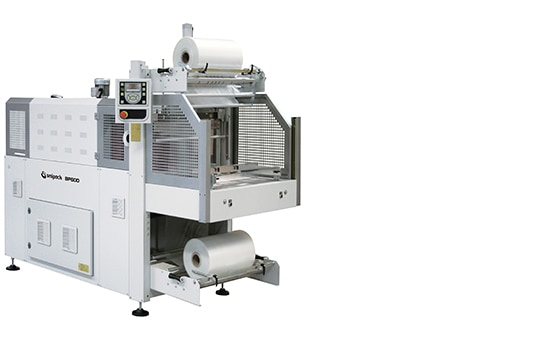 BP600, BP600 - Monoblock semiautomatic shrinkwrapper with sealing bar,