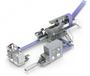 FLEXIBLE BREAD PACKAGING LINE