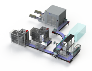 FULL AUTOMATIC FISH PACKING LINE