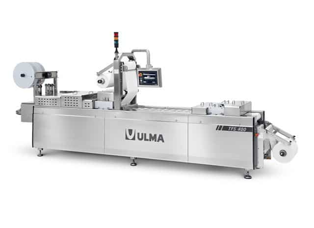 TFS 400 hygienic design thermoformer, Al thika packaging, ULMA