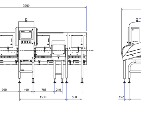 X3710 drawing,x ray inspection