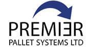 Premier pallet, pallet inverter, premier pallet logo