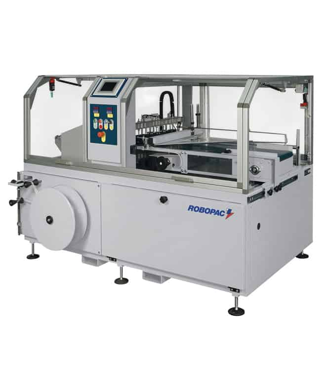 ATHENA CS 550 ، ATHENA CS ، Robopac ، آلة التغليف المتقلصة ، التعبئة والتغليف