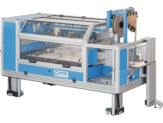Al thika packaging LLC, US 2000 FAB A, ATS, banding machine, promotional packing