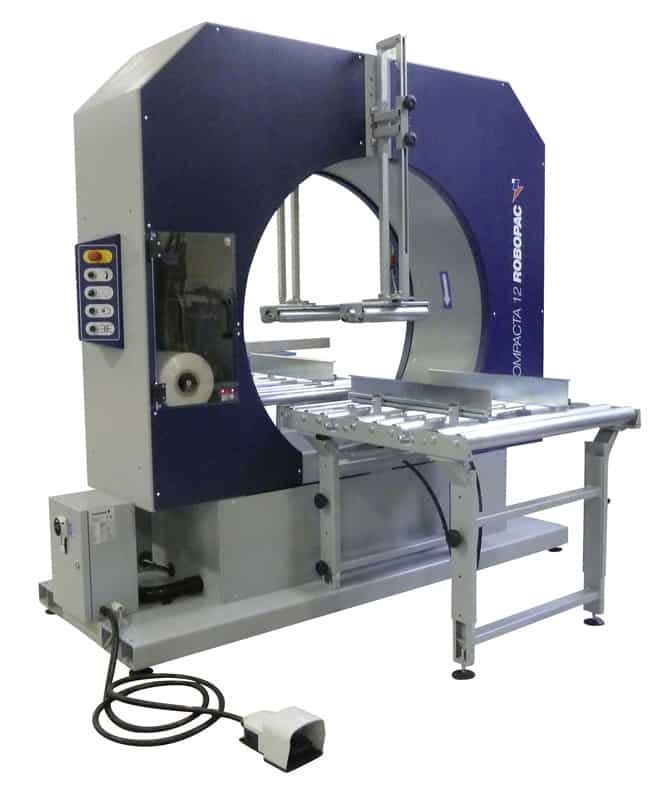 COMPACTA 12, al thika packaging, robopac, horizontal stretching machine