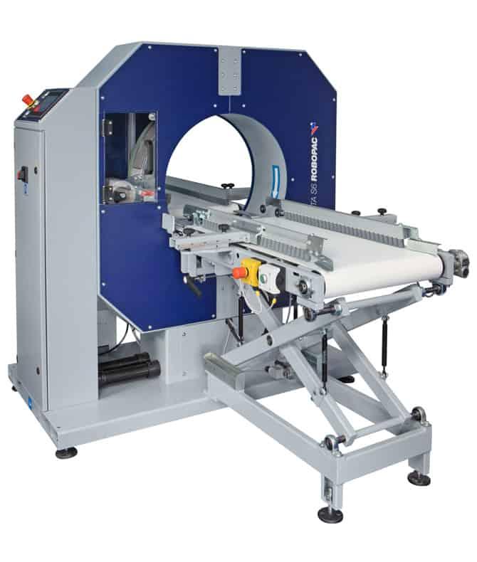 COMPACTA SPG, al thika packaging, robopac, horizontal stretching machine