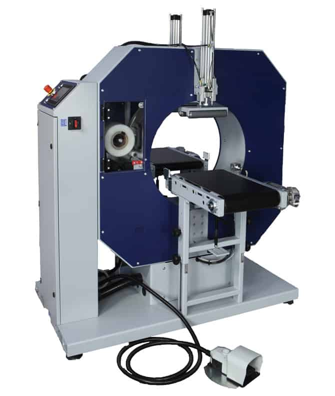 COMPACTA S4, al thika packaging, robopac, horizontal stretching machine