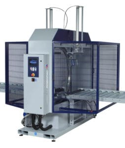 ORBIT 12, al thika packaging, robopac, horizontal stretching machine