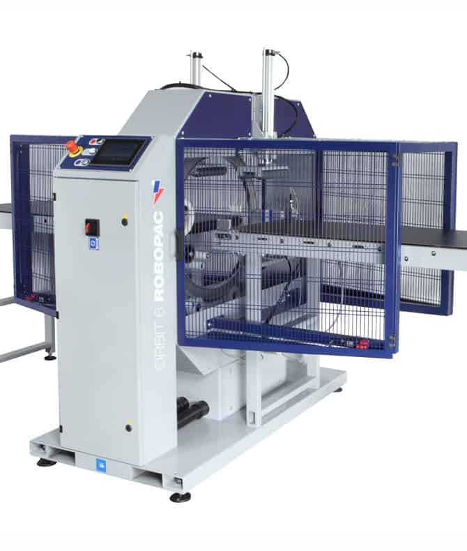 ORBIT 4, al thika packaging, robopac, horizontal stretching machine