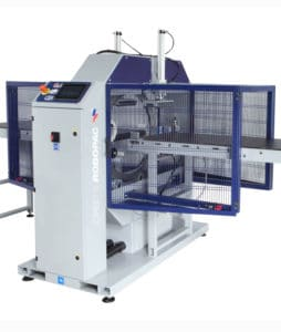orbit 6, Robopac, horizontal packaging machine, horizontal stretching machine