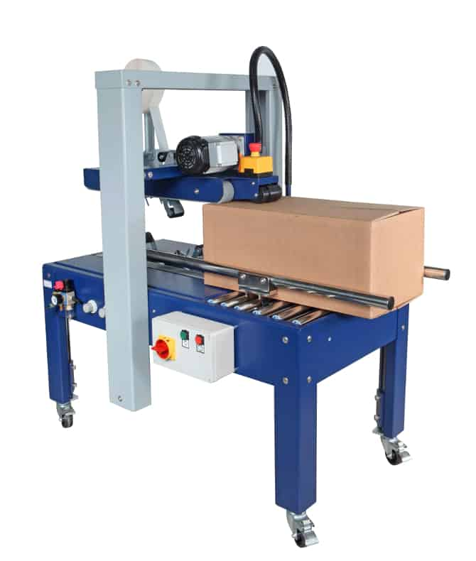 Al thika packaging LLC, Al thika packaging, Taping and case erector machine, robopac