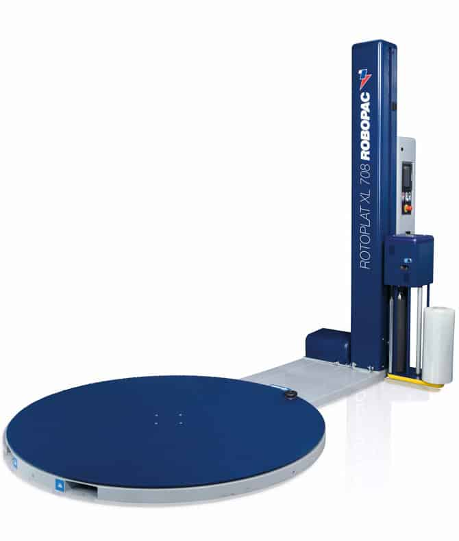 ROTOPLAT XL ، آل الثيكا التعبئة والتغليف ، robopac ، تمتد القرص الدوار التفاف