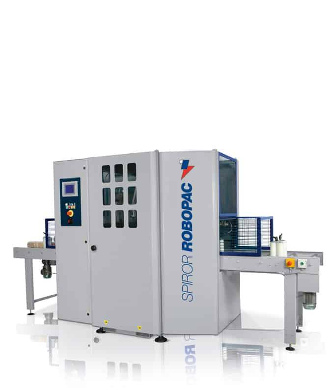 SPIROR HP DR 900, al thika packaging, robopac, horizontal stretching machine