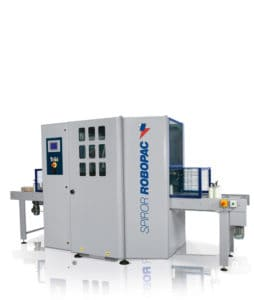 SPIROR HP 400, Robopac, horizontal stretching machine