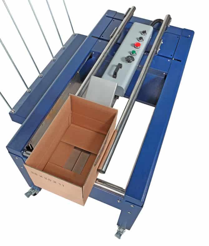 starbox, erecting machine, Semi-automatic carton erecting machine