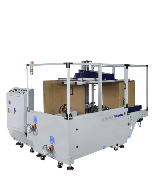superbox, taping machine, taping and erector machine, al thika packaging