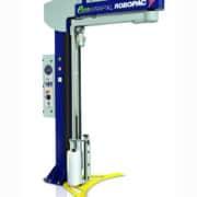 ECOWRAP XL ، تغليف الثيكا ، آلة تغليف بسط ذراع دوار نصف أوتوماتيكي ، آلة تغليف نصف أوتوماتيكية ، آلة لف اللحم ، تعبئة الدواجن ، لف البالته