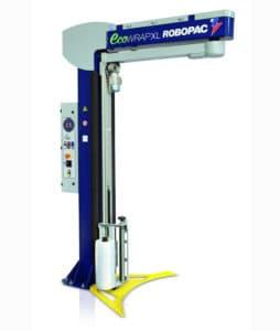 ECOWRAP XL ، نصف أوتوماتيكي ، تدوير ذراع لف الماكينات ،