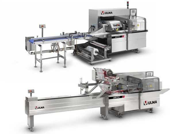 ARTIC flow pack wrapper (HFFS), Al thika packaging, ULMA, Wrapping machine