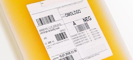 Label Ribbon Plasma Bag, Al Thika Packaging, Markem Imaje