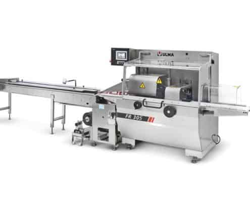FR 305 flow pack wrapper (HFFS), HFFS, Al thika packaging, ULMA, Flow pack wrapping