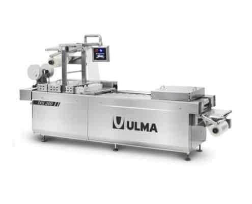 TFS 200 hygienic design thermoformer, Al thika packaging, ULMA, Thermoformer, thermoforming machine