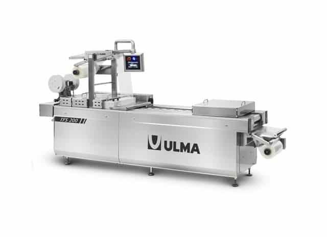TFS 200 التصميم الحراري بالحرارة ، التعبئة آل ثيكا ، ULMA ، بالحرارة ، وآلة التشكيل الحراري