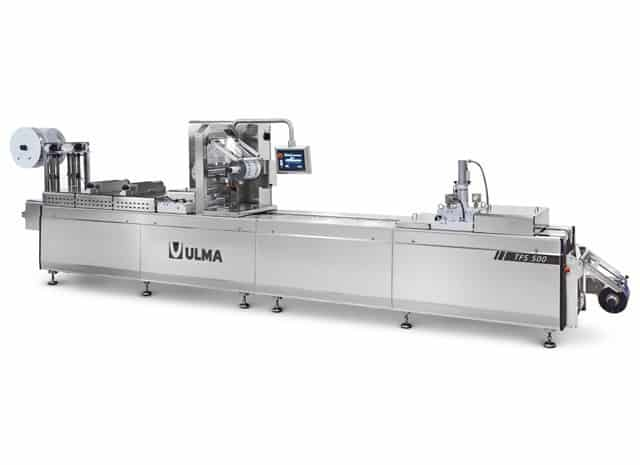 TFS 500 hygienic design thermoformer, Al thika packaging, thermoforming machine in Dubai