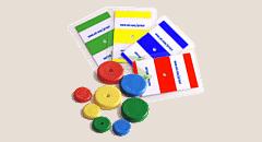 عينات الاختبار ، بطاقات الأجهزة اللوحية لفحص المنتجات ، فحص المنتجات ، Mettler Toledo