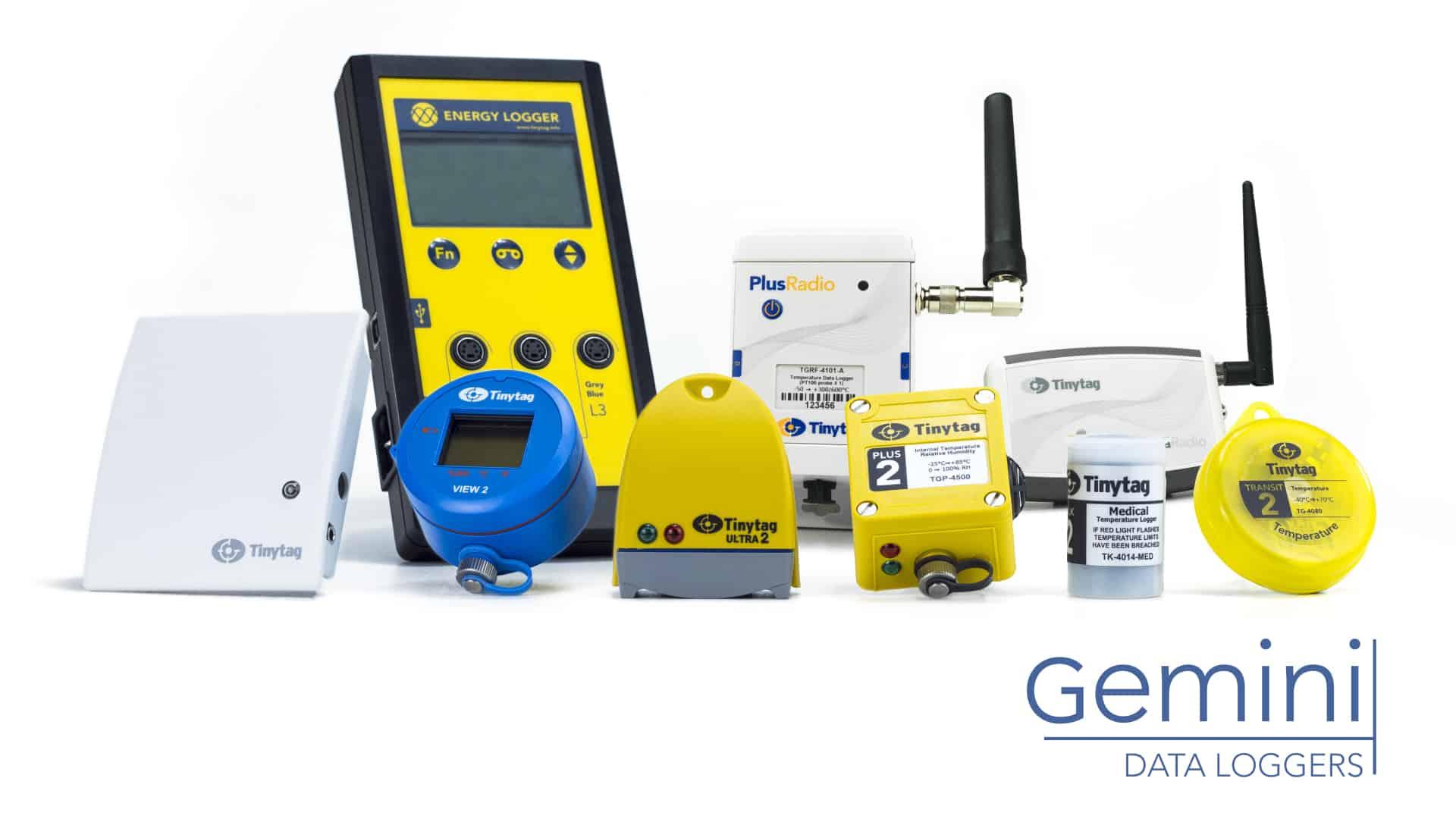 TinyTag, Gemini data logger, data logger for temperature monitoring