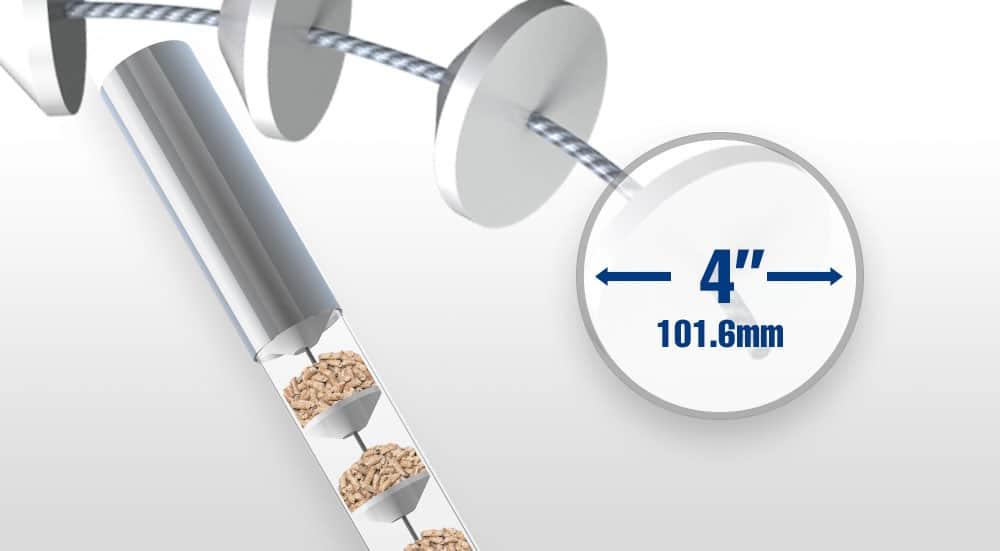 4 Diameter Tube Conveyor Systems