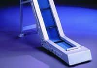Angled belt conveyor GAL-60-K