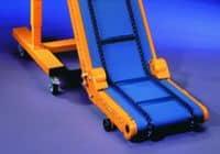 Angled belt conveyor GK-80-KW
