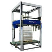Automatic wrapping solution, Robopac stretch wrapping machine