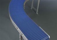 Curved modular chain conveyor AM-C