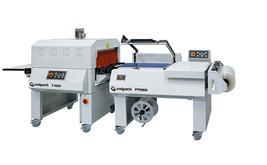 Smipack FP560, shrink wrapping machine, shrink wrap, wrapping machine