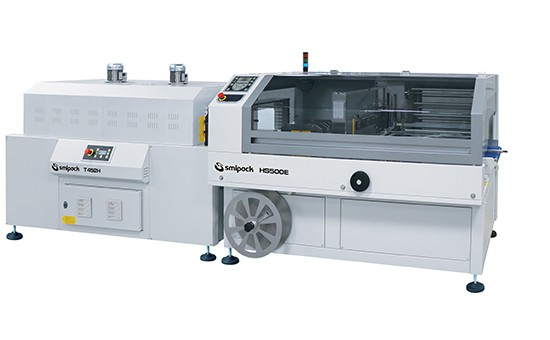 آلة تغليف شرنك HS500E ، آلة لصق L ، غلاف انكماش