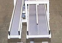 Two parallel conveyors