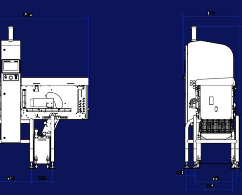 X33 Bulk Flow drawing