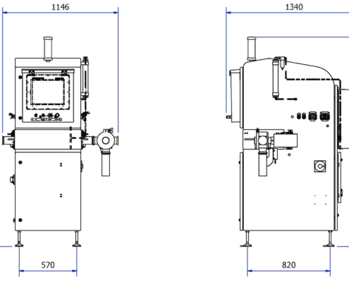 X38 inspection drawing