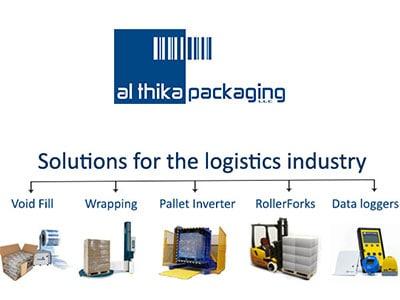 حلول للوجستيات ، صناعة الخدمات اللوجستية ، حلول التعبئة والتغليف للوجستيات ، forlift