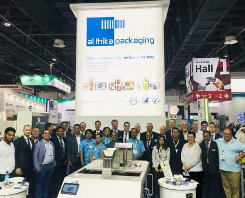 Gulfood Manufacturing 2017, Gulfood Manufacturing, Cablevey conveyors, data logging, Endoline, event, exhibition, food packaging, Key Technology, Mettler-Toledo, packaging, packaging machines, packaging world, packing, ULMA Packaging, Gulfood2017