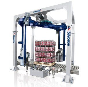 Al Thika Packaging, wrapping,pallet wrapper,stretch wrap,Vertical stretch wrapping machines,wrapping solutions,Helix 4/2
