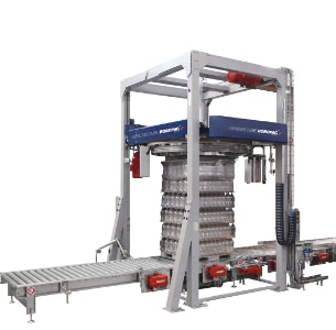 Al Thika Packaging, wrapping,pallet wrapper,stretch wrap,Vertical stretch wrapping machines,wrapping solutions,Robopac sistemi,Genesis cube