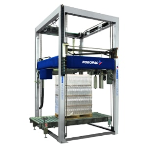 Al Thika Packaging, wrapping,pallet wrapper,stretch wrap,Vertical stretch wrapping machines,wrapping solutions,Robopac sistemi,Genesis Futura 40