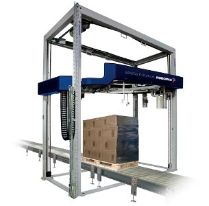 Al Thika Packaging, wrapping,pallet wrapper,stretch wrap,Vertical stretch wrapping machines,wrapping solutions,Robopac sistemi,Genesis Futura XL