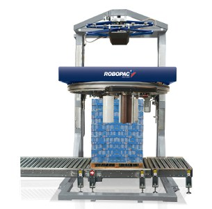Al Thika Packaging, wrapping,pallet wrapper,stretch wrap,Vertical stretch wrapping machines,wrapping solutions,Robopac sistemi,Genesis HS50