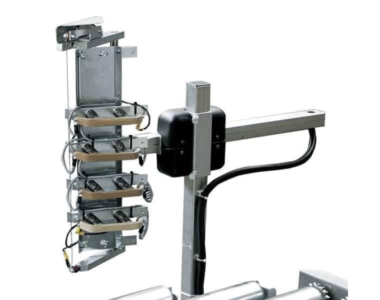 جهاز تسخين الألواح الساخنة ، Robopac Sistemi ، اللولب 4