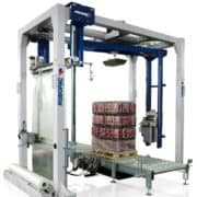 Al Thika Packaging, Robopac Sistemi,,Helix 4 Robopac Sistemi, horizontal wrapping machine