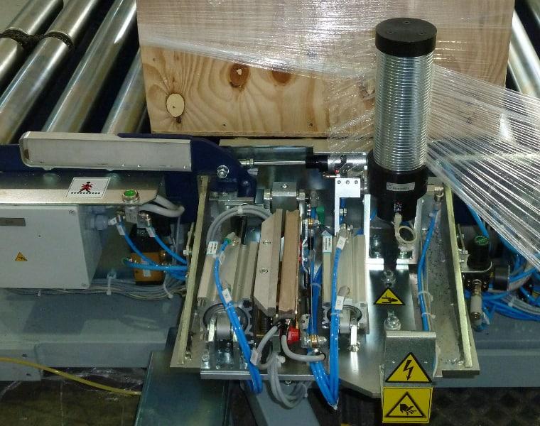 spring clamp, Rotoplat 3000 HD, Robopac Sistemi